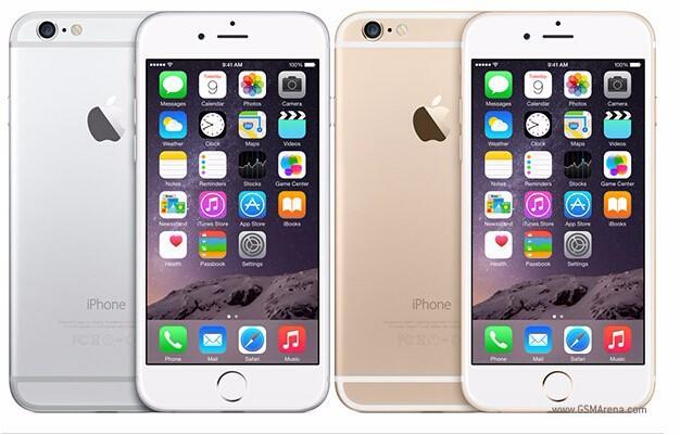 Unlocked Apple iPhone 6 1GB RAM 4.7inch IOS Dual Core 1.4GHz 8.0 MP 3G WCDMA 4G LTE iPhone 6 16GB gold 20