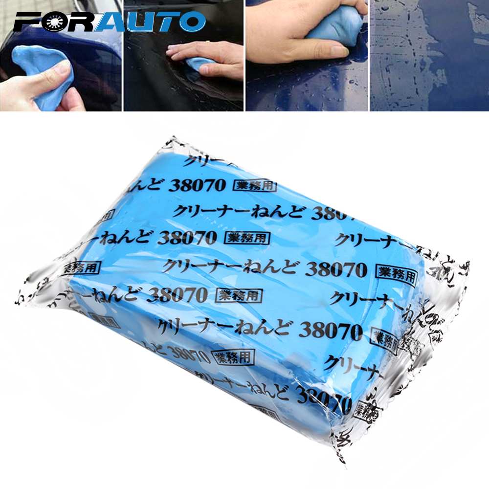 Bright Mini Handheld Auto Car Detailing Clay Cleaning Bar Blue Practical Magic Car Surface Clean Clay Car Styling Car Care Washer Tools Car Wash & Maintenance Car Wash Accessories