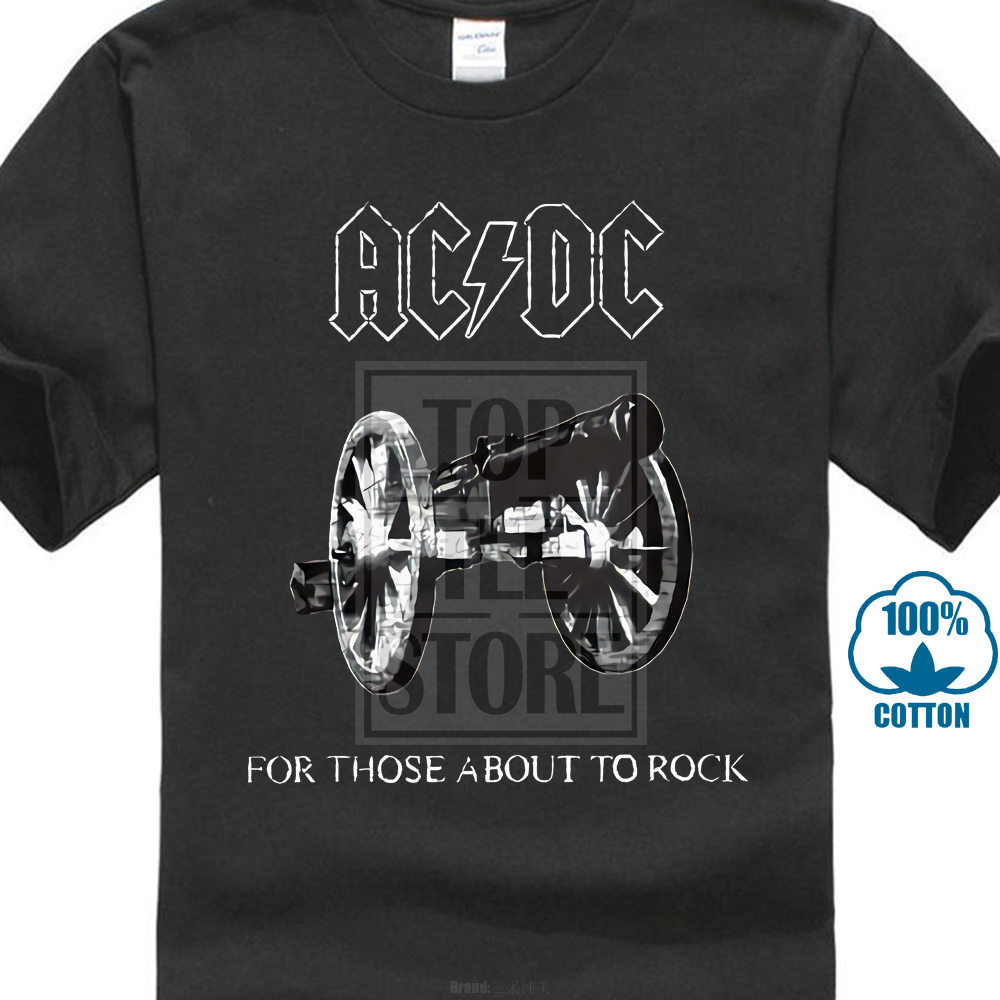 New AC//DC For Those About To Rock T Shirt