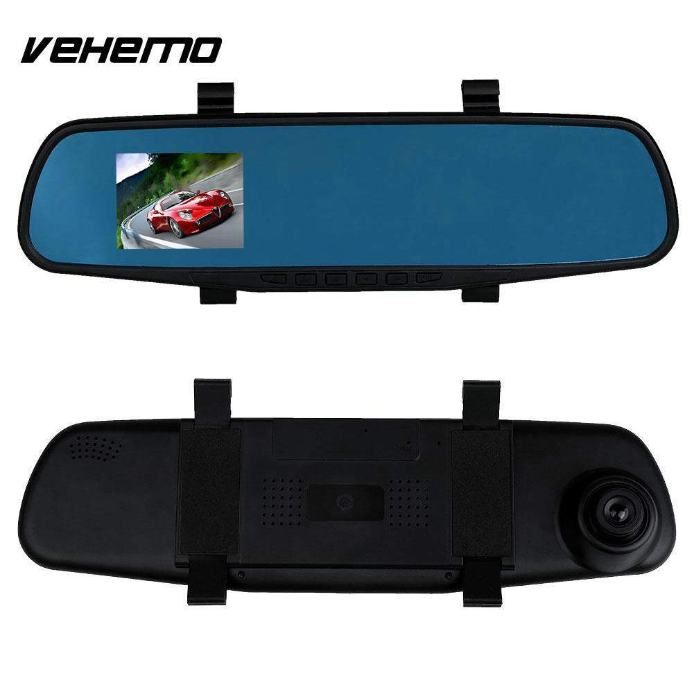 imágenes para 2.8 ''1080 P LCD de la Cámara Auto Del Coche Dash Cam Video Recorder Espejo Retrovisor