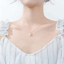 Freshwater Pearls With Leaf Pendant Silver Necklace Jewelry