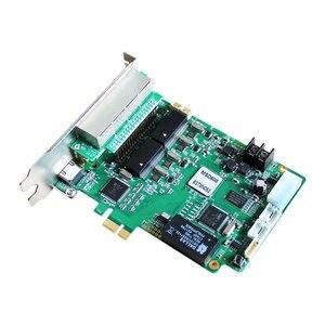 Image 5 - O diodo emissor de luz rgb cor cheia conduziu o controlador video da tela parede novastar msd600 msd300 nova que envia o cartão e mrv336 mrv326 mrv366