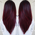 Paquetes Armadura Brasileña Del Pelo de borgoña Rojo 99J Pelo Brasileño Virginal Recto Del Pelo Humano 3 Bundles Brasileño Straight Hair Bundle