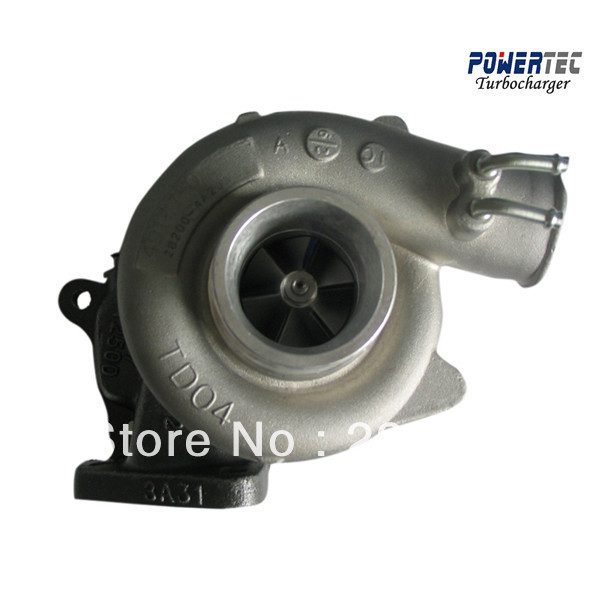 turbocharger for Hyundai Terracan / Starex 2.5 TDI, Motor D4BH Elektronic- turbocharger 49135-04020 49135-04021 282004A200