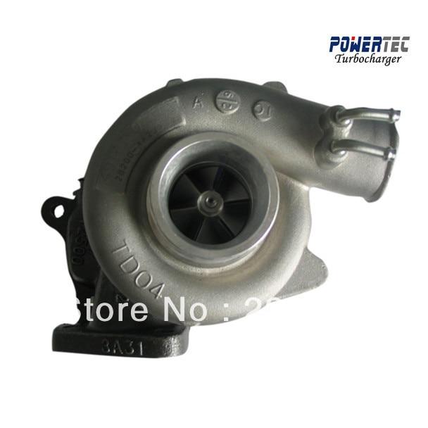 купить turbocharger for Hyundai Terracan / Starex 2.5 TDI, Motor D4BH Elektronic- turbocharger 49135-04020 49135-04021 282004A200 по цене 10811.6 рублей