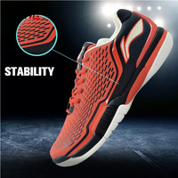 Li Ning Men S Tennis Shoes Cushioning Breathable Stability Professional Sneakers LiNing Sports Shoes Li Ning