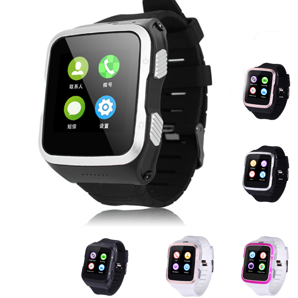 ФОТО High Resolution Luxury  Bluetooth Wrist Smart Watch Support SIM Card 4G ROM Touch Screen For IOS For Android #ED#