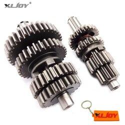 YX110 125 Übertragung Getriebe Box Wichtigsten Zähler Welle Für YX 110cc 125cc Motor Pit Dirt Bike Motorrad Minicross Motor Bike
