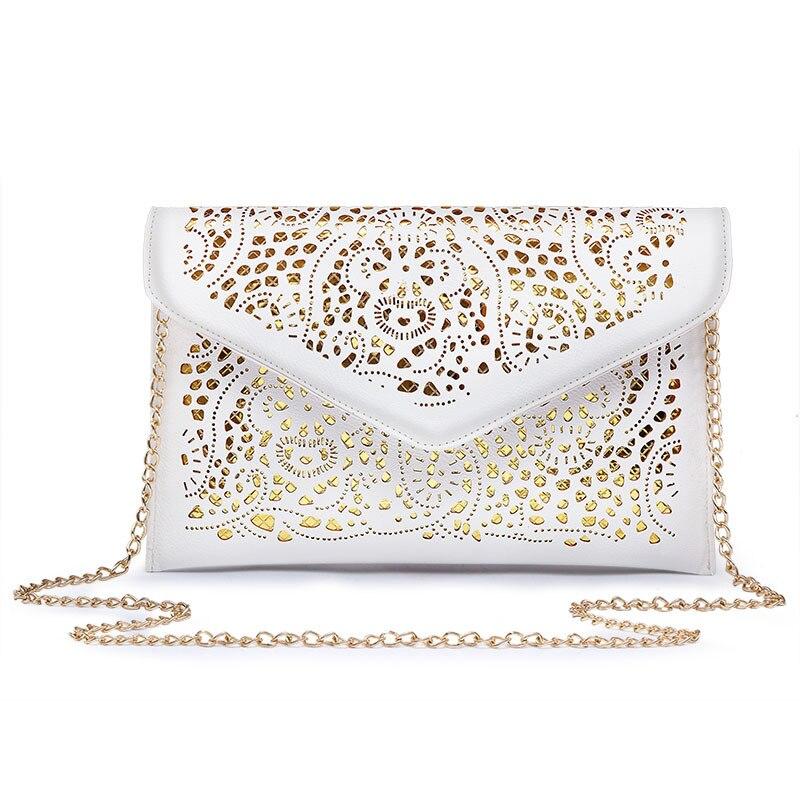 Новинка 2018 г. модная открытая конверт мешок небольшой Для женщин кожаная сумка через плечо для девочки сумка клатч сумочка