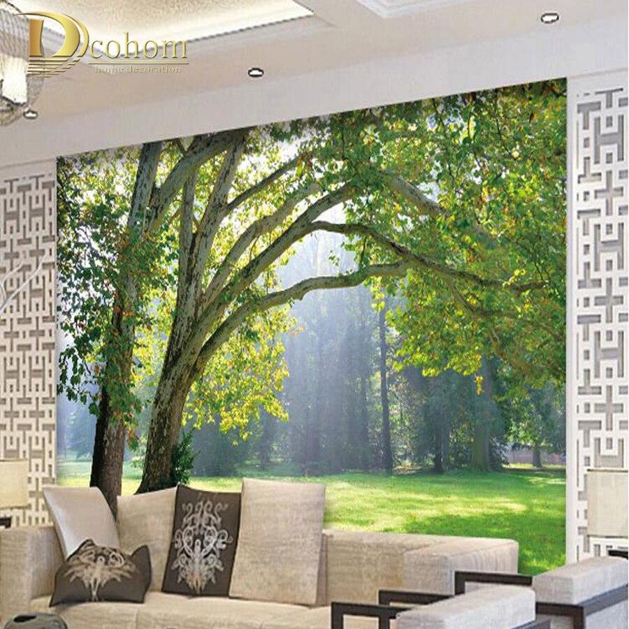 Perbaikan Rumah Foto Custom 3d Wallpaper Tiga Dimensi Kain
