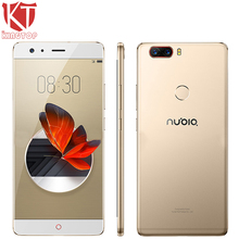 Original ZTE Nubia Z17 Borderless Mobile Phone 8GB RAM 64GB ROM Snapdragon 835 Octa Core 5.5″ 23MP Android 7.1 Cell Phone