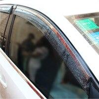 High Quality 4 Pcs Set SORENTO Wind Rain Sun Guards Visor Vent Awnings Shelters For Toyota
