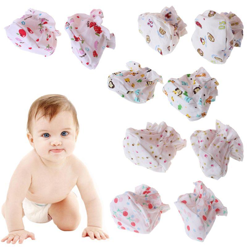 1 Para Baby Socken Spaziergang Ausbildung Abdeckung Fuß Schutz Cartoon Drucken Newborn Pflege