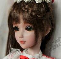 Полный набор одежда высшего качества 60 см ПВХ кукла 1/3 девушка парик BJD одежда обувь все включено! Ночь Лолита Cherry reborn baby doll лучшее искусство