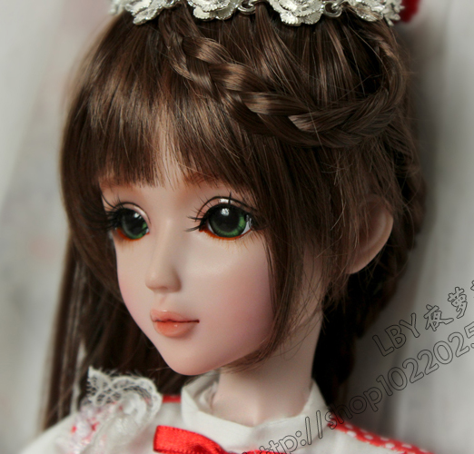 FULL SET Top quality 60 cm pvc doll 1/3 girl bjd wig clothes shoes all included ! night lolita Cherry reborn baby doll best art 1 6 scale bjd lovely kid sweet baby cute nana resin figure doll diy model toys not included clothes shoes wig