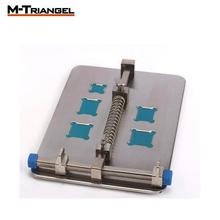 Mobile Phone PCB Repair Fixture With IC Card Slot Holder Work Station Platform Support Clamp Steel PCB Board Soldering Repair magnifier phone repair platform station universal clamp form magnifying glass desktop holder soldering repair tool