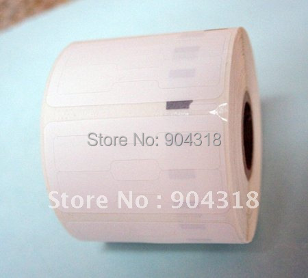 6 x Rolls Dymo compatible 11351, jewelry labels, 54x11mm, 1500 labels per roll