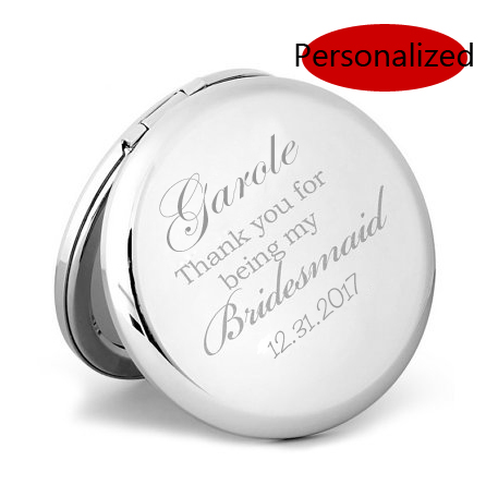 e5bb7ab6b79 The best gift for Mother  Day Personalized compact mirrors Very creative  birthday gift engraving pocket mirror  18305