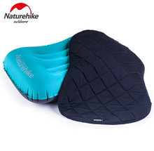 Naturehike Inflatable Outdoor Camping Pillow Ultralight Travel With Pocket Potable Inflation Cushion