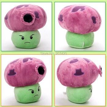 12 polegada 30 cm linda planta Vs Zombies PopCap roxo noite cogumelo brinquedos de pelúcia, 1 unidades/pacote