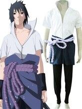 Бесплатная Доставка Наруто Саске Короткие Orochi Кимоно Косплей Costmes