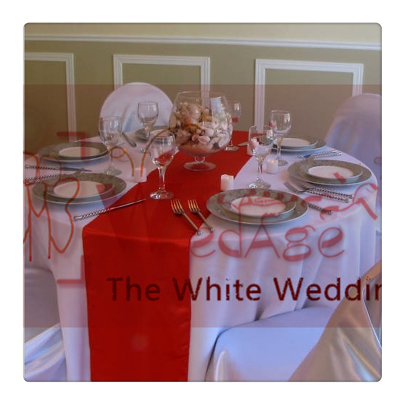 36 Piece Red Table Runners For Wedding FREE SHIPPING Wedding Decoration  Centerpieces(China (Mainland