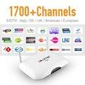 Caja Androide de la Tv IPTV Dalletek Europa EX-YU IPTV Árabe Ruso Canales de suscripción Sky Sport Canal caliente Libre 1G/8G HD Media caja