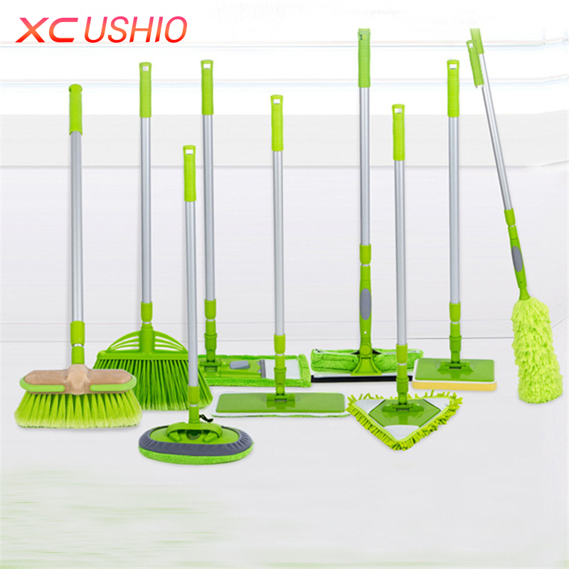 Detachable Household <font><b>Cleaning</b></font> Tools Multifunctional Assemble Glass Wiper <font><b>Cleaning</b></font> Brush Duster Sponge Brush Floor Mop