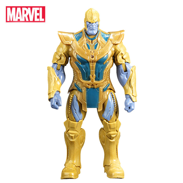 Vingadores Marvel Thanos Infinito Guerra Do Homem Aranha Homem De Ferro Capitão América Thor Hulk homem Formiga Brinquedos Action Figure Presente de Aniversário