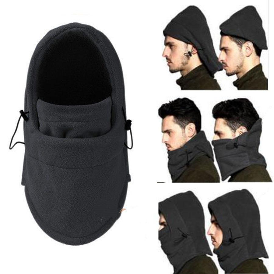 1PC Multifunction Warm Hat Thermal Fleece Hood Police Swat Ski Bike Wind Stopper Biker Motorcycle Cycling Hats Ski Face Mask