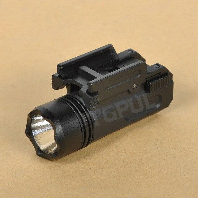 TGPUL Airsoft Mini Pistol Light QD Quick Detach Handgun Flashlight LED Rifle Gun Tactical Torch for 20mm Rail Glock 17 19 18C 24 1