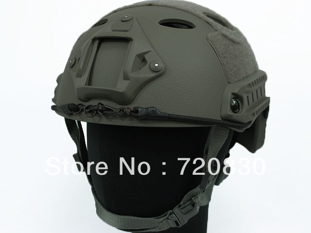 Airsoft FAST Carbon Style Helmet Foliage Green AT MC BK TAN BROWN OD