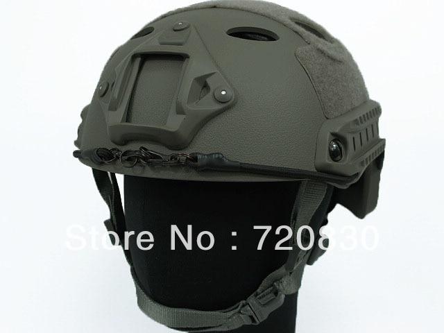 Airsoft FAST Carbon Style Helmet Foliage Green AT MC BK TAN BROWN OD