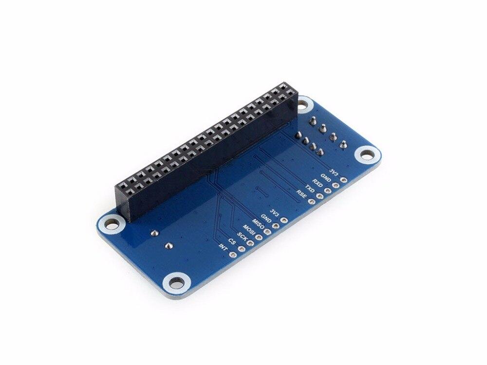 RS485 CAN HAT для Raspberry Pi обеспечивает стабильную дальнюю связь поддерживает платы серии Raspberry Pi