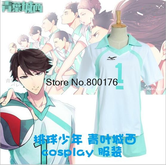 Haikyuu! Karasuno High School Coat Jacket Cosplay Costume Sport Uniform XS-3XL