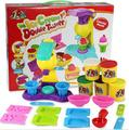 Intelligent plasticine play doh	/Fimo Polymer Clay and too kit for ice cream double twistter kids toys