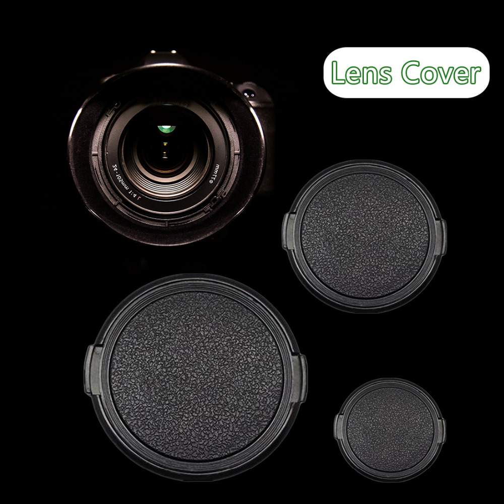 HONGDAK <font><b>Lens</b></font> Protector 49 52 55 58 62 <font><b>67</b></font> 72 77mm Camera <font><b>Lens</b></font> <font><b>Cap</b></font> Protection Cover <font><b>Lens</b></font> Front <font><b>Cap</b></font> for Canon Nikon DSLR <font><b>Lens</b></font> image