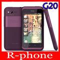 "Teléfono móvil abierto original htc g20 rhyme s510b gps wi-fi 5.0mp 3.7 ""pantalla táctil 3g teléfono android reformado"