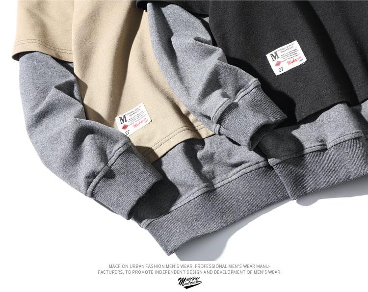 à AJZHY Streetwear patchwork 12