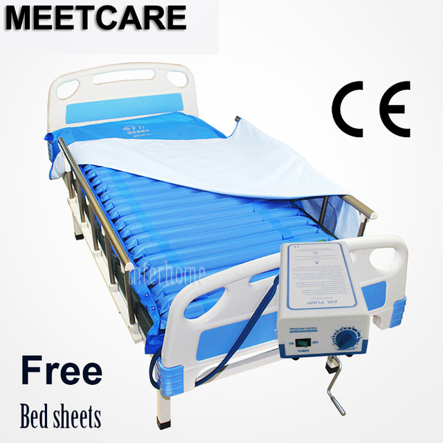 Al Pneumatic Alternating Pressure Air Mattress Cushion Sleep Function Pump Prevent Bedsores Decubitus Bed Sheets For