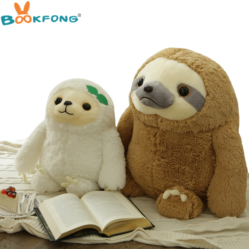 Simulation Sloth Baby Puppe Lebensechte Sloth Plüschtiere Stoffpuppen Kinder Spielzeug Schöne Puppe Freundin Besten Geschenke Brinquedos