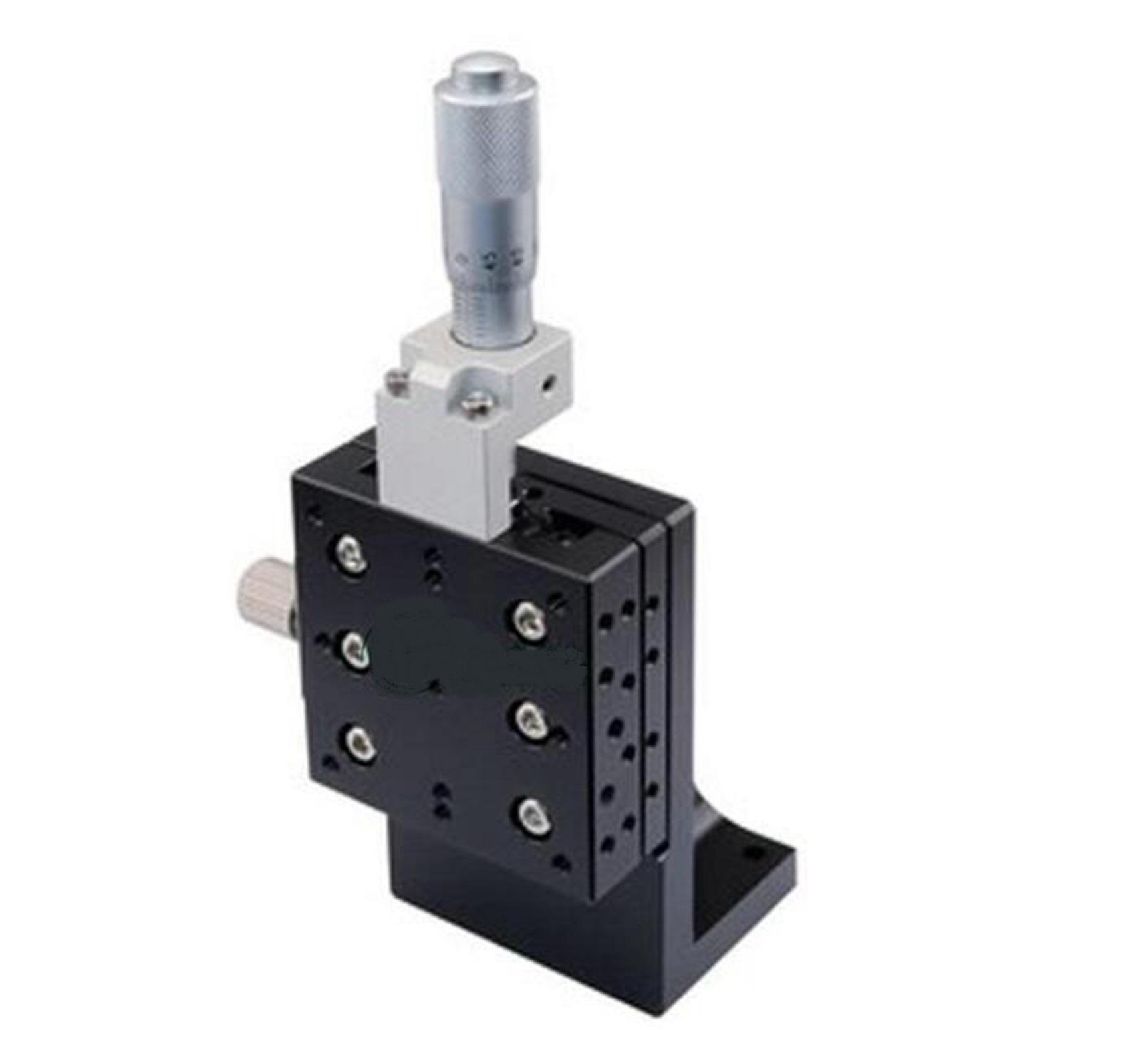 Z-axis 60X60mm Vertical Adjustable Precision Linear Stage Cross-roller Bearing For Automation Sliding Linear CNC Equipment z axis 40x40mm centre vertical precision linear stage cross roller bearing