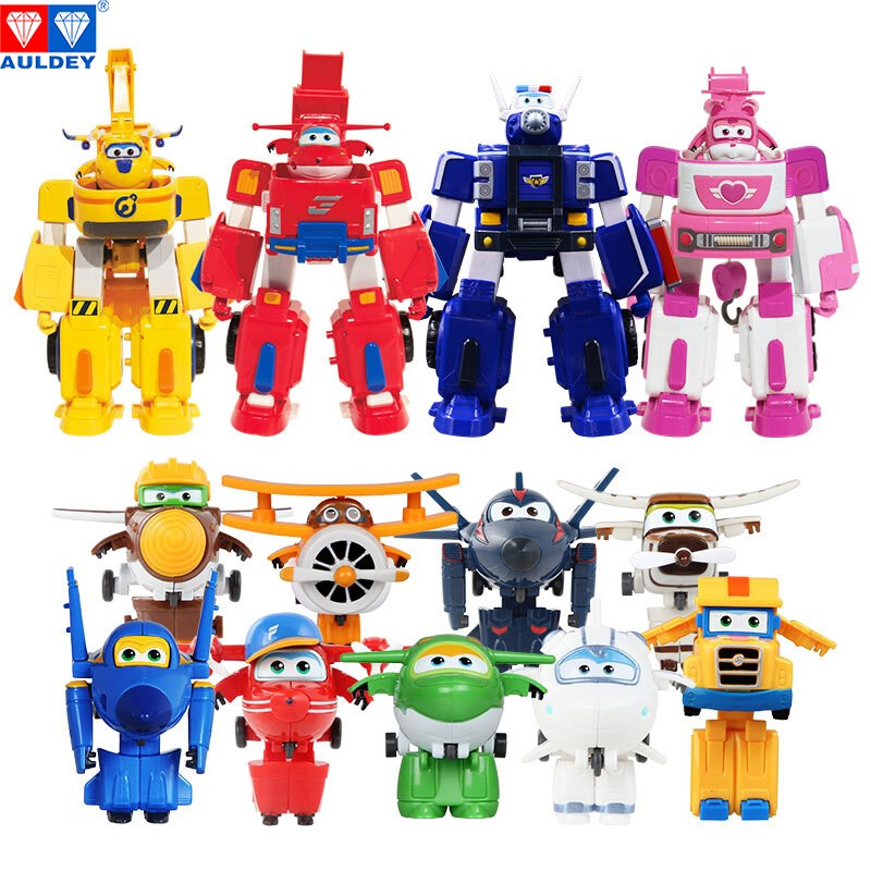 13pcs/set Mini and 4pcs/set SUITS Super Wings High Quality Original Deformation Action Figures Toys Children Gift Model Birthday 15 cm jimbo super wings mini airplane abs robot toys action figures super wing transformation jet animation children kids gift