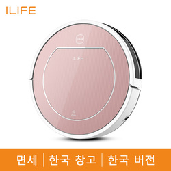 ILIFE V7s Plus Robot Vacuum Cleaner Vacuum Wet Mop Simultaneously For Hard Floors&Carpet Run 120mins before Automatically Charge