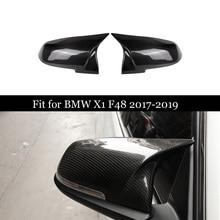 For BMW 2 Series F45 F46 220i 228i M235i & X X1 F48 F49 2016-2018 Carbon Fiber Rear View Mirror