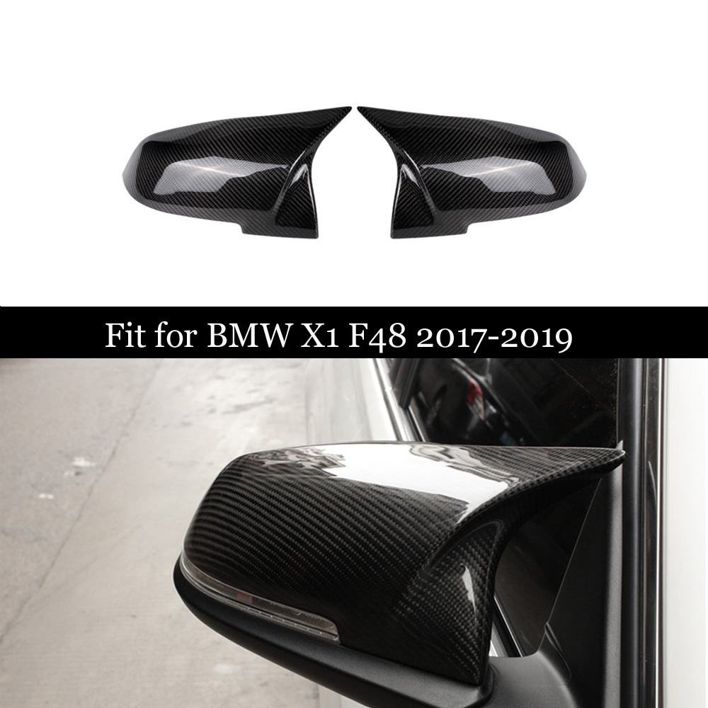 For BMW 2 Series F45 F46 220i 228i M235i & X Series X1 F48 F49 2016 2018 Carbon Fiber Rear View Mirror