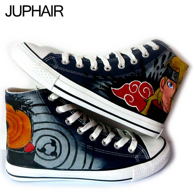 Akatsuki Tobi Pain Hand Painted Canvas Shoes