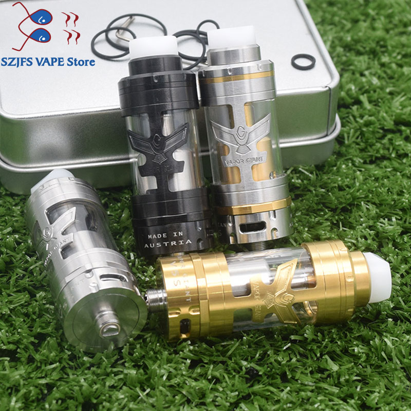 Giant Steam V5s RTA 23mm 5ML Capacity RtaVaporizer Rebuildable Tank Atomizer Fit Mod Electronic Cigarette Vape Vs Giant V6s/v5m