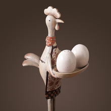 Creative Resin Chicken Decor