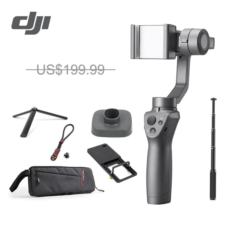 DJI Osmo Mobile 2 3-Axe stabilisateur de poche pour Smartphone 3-axes De Poche Cardan Stent Zoom Contrôle Panorama